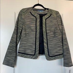 Antonio Melani horizontal striped blazer